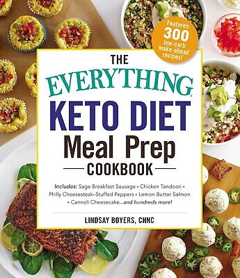 $9.99 • Buy The Everything Keto Diet Meal Prep Cookbook: Includes: Sage Breakfast Sausage, C