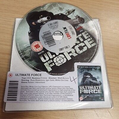 £2 • Buy DISC ONLY - Ultimate Force DVD