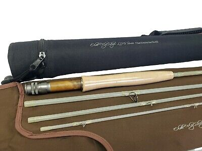 $ CDN155.99 • Buy Olde Fly Shop Transparent Fiberglass Fly Rod  4pc 3wt With Carrying Case