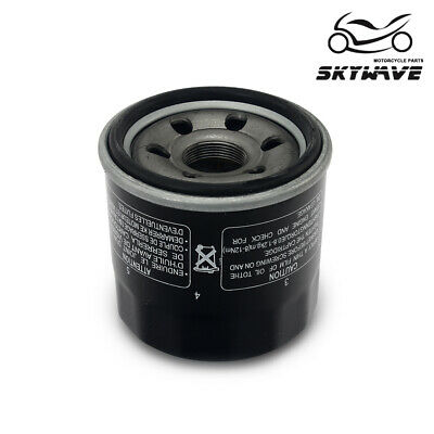 $12.32 • Buy Oil Filter For Suzuki GSF600 2004 GSX600 750 2006 GSX-R600 2018 VS600 GSR750 16