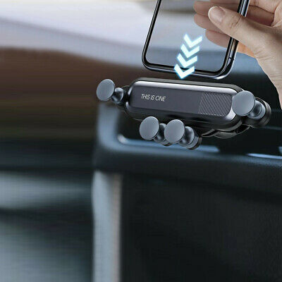$9 • Buy Gravity Phone Holder Car Interior Air Vent Mount Cradle Stand Clip Accessories