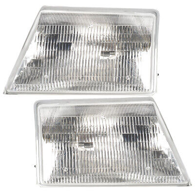 $45 • Buy Headlights Front Lamps Pair Set For 98-00 Ford Ranger Pickup Left & Right