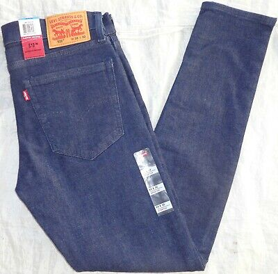 NWT Levi's Men's 519 Extreme Skinny Stretch Jeans Irregular 248750019 • 28.62£