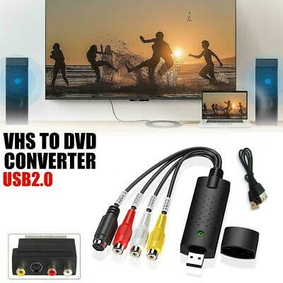 AU10.95 • Buy USB2.0 Audio Video Capture Card Adapter VHS To Digital Converter Brand New