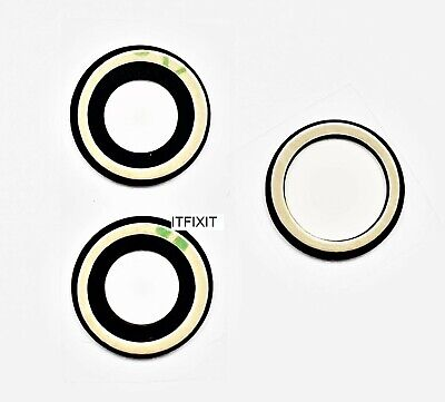 £4.50 • Buy IPhone 11 Pro & 11 Pro Max Rear Camera Glass Lens  Pre Installed Adhesive