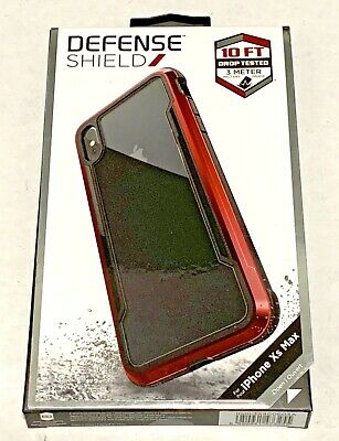 X-Doria Defense Shield For The IPhone XS Max Phone Case New Red  • 14.28£