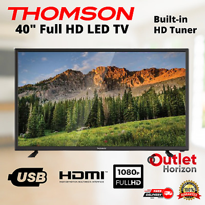 AU267.93 • Buy THOMSOM TV 40 Inch  Full HD 1080p 40  LED USB And HDMI Ports Built-In Tuner