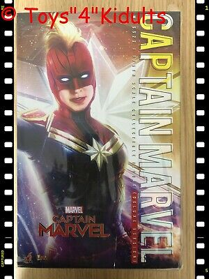 $ CDN304.77 • Buy Hot Toys MMS 522 Captain Marvel Brie Larson 1/6 Action Figure Deluxe Version NEW