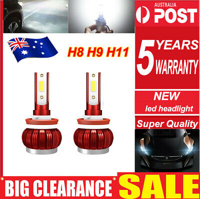 AU17.29 • Buy H11 H9 H8 LED Car Headlights 255000LM High/Low Beam Replace Xenon Halogen Globes