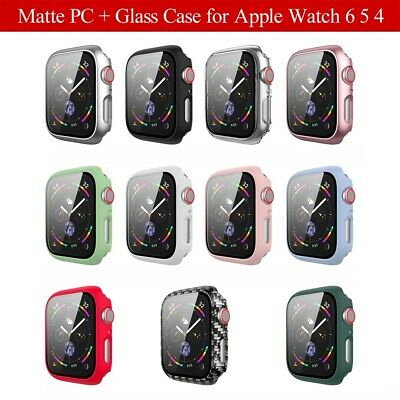 $ CDN2.74 • Buy For Apple Watch Series 6 5 4 Screen Protector IWatch 40mm 44mm Matte PC Case&