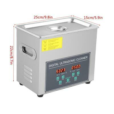 AU216.51 • Buy 3L Double Frequency Digital Stainless Steel Ultrasonic Cleaner Cleaning Machine
