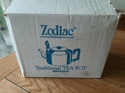 £20 • Buy Vintage Zodiac Traditional Teapot 8 Pints 4.5L Catering Stainless Steel