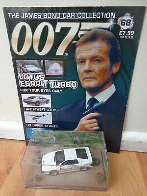 $ CDN51.28 • Buy 1/43 James Bond 007 Car Collection - Lotus Esprit Turbo For Your Eyes Only #68