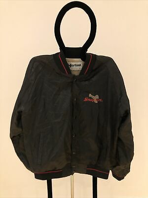 $ CDN97.33 • Buy Vintage Snapon Spellout Bomber Jacket
