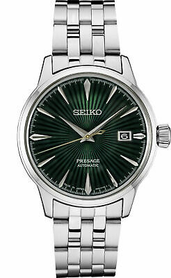 $ CDN446.57 • Buy Seiko Men's Presage Automatic Sunray Dial Stainless Steel Watch SRPE15
