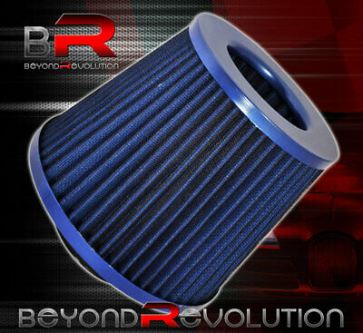 $ CDN30.29 • Buy Mazda Rx7 Miata Rx8 Washable 3  Air Filter Double Stainless Steal Mesh Blue