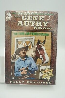 £16.62 • Buy The Gene Autry Show: The Third And Fourth Seasons New Dvd