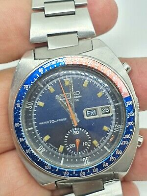$ CDN574.29 • Buy Seiko Pogue 6139-6002 Water Proof Dial Vintage Automatic Japan Made - Jbc