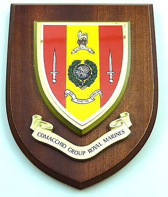 Comacchio Group Royal Marines Classic Hand Made  Regimental Wall Plaque • 19.99£