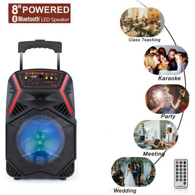 $44.99 • Buy 8  1000W Portable FM Bluetooth Speaker Subwoofer Heavy Bass Sound System Party