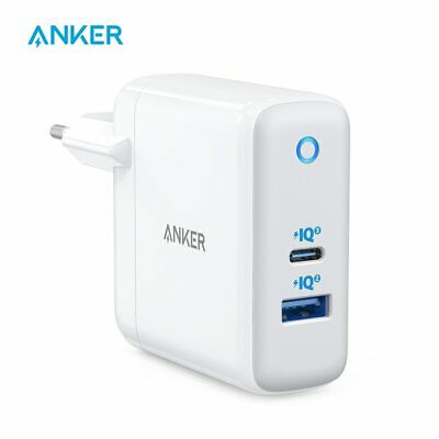 AU81.95 • Buy USB C Charger, Anker 60W PIQ 3.0 & GaN Tech Dual Port Charger, PowerPort Atom