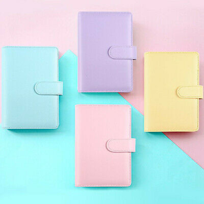 AU15.99 • Buy A6/A5 Ring Binder Loose Leaf Notebook Cover Weekly Monthly Planner Classic Diary