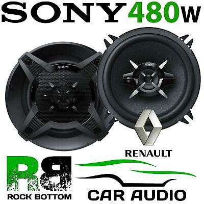 Renault Clio MK2 MK3 SONY 13cm 5.25 Inch 480 Watts 3 Way Rear Door Car Speakers • 36.99£