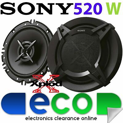 Sony 16cm 6.5  520 Watts 2 Way Front Door Car Speakers To Fit Audi A3 8P-03-12 • 39.95£