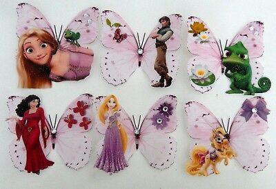 Disney Tangled Wall Stickers,girl's Bedroom Decor, All Art Stickers,children • 12£