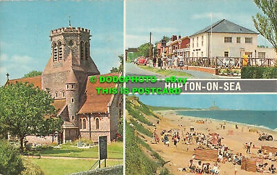 R520386 Hopton On Sea. Coastal Cards. Vita Nova. Multi View • 7.99£