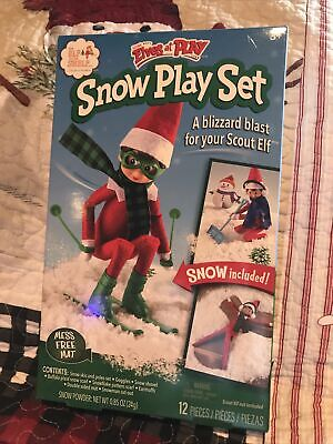 AU25.93 • Buy The Elf On The Shelf Snow Play Set Fast Shipping!