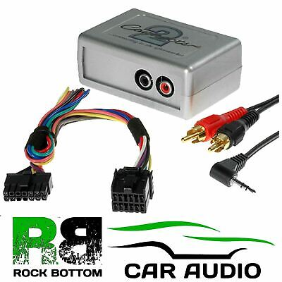 CTVFOX001 Ford Focus 1998-04 Car Aux In Input MP3 IPhone IPod Interface Adaptor • 34.95£