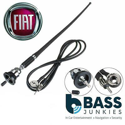£8.95 • Buy FIAT DUCATO AM/FM Rubber Mast Roof/Wing Mount Car Radio Aerial Antenna CHROME