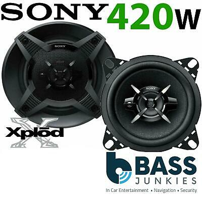 SONY XS-FB1020 420 WATTS 10cm 2 Way Car Van Truck Door Dash Shelf Speakers Pair • 23.75£
