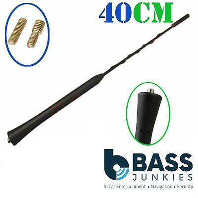 Vauxhall Corsa B C - 40cm Whip Style Roof Mount Replacement Car Aerial Antenna • 5.95£