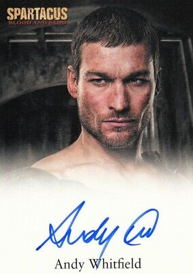 £599.99 • Buy Spartacus Blood & Sand Ultra Rare Andy Whitfield As Spartacus Auto Card