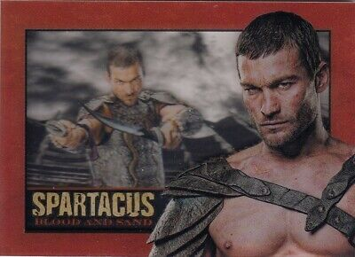 £49.99 • Buy Spartacus Blood & Sand Andy Whitfield As Spartacus In Memoriam Shadowbox Card
