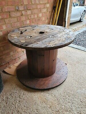 Wooden Electric Cable Drum  • 20£