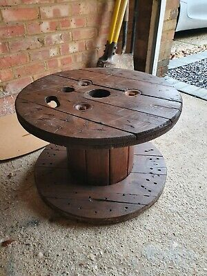 Wooden Electric Cable Drum  • 10£