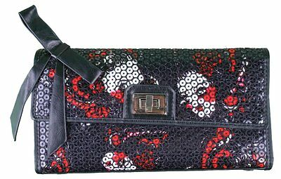 Iron Fist Party Kiss Black Sequined Purse • 23.33£