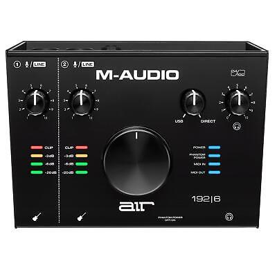 $169 • Buy M-Audio Air 192|6 USB-C Interface With ProTools|First & Ableton 192-6 AIR192-6