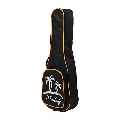 AU15.13 • Buy Muslady 23 Inch Concert Ukulele Bag Uke Ukelele Zippered Case 5mm Padding K9Q1