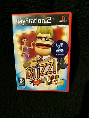 Buzz The Music Quiz (without Buzzers) (PS2) • 4.99£