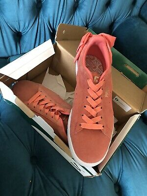 AU65 • Buy Puma Suede Pink With Bow. New In Box.