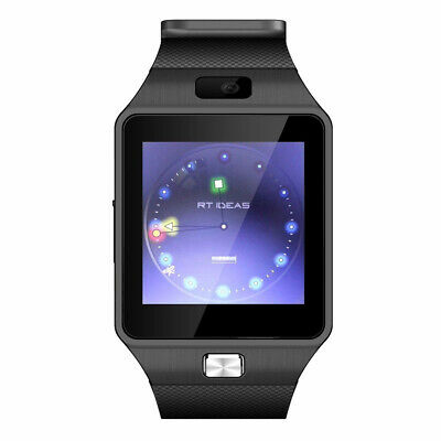 AU13.33 • Buy DZ09 1.54 Inch Touch Camera Sleep Monitor Reminder Bluetooth Smart Watch