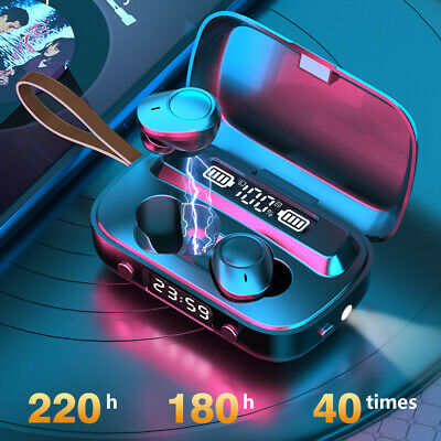 $ CDN18.19 • Buy Bluetooth Earbuds For Iphone Samsung Android Wireless Earphone IPX7 WaterProof