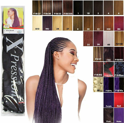 X-pression (xpression) Ultra Hair For Braiding, Expression Original *fast Post* • 4.45£