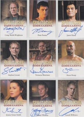$ CDN15.54 • Buy Spartacus Gods Of The Arena Auto / Autograph Card Selection