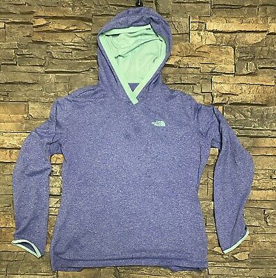 £12.17 • Buy The North Face Womens Flashdry Hooded Running Top Base Layer Sz L Heather Purple