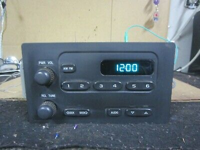 $12 • Buy 03 04 05 06 Chevy Silverado Radio Stereo Audio CD Player Receiver AM FM 15131157